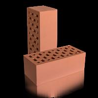 Кирпич керамический лицевой пустотелый 1.4 НФ Красный